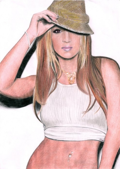 Britney Spears por elyk